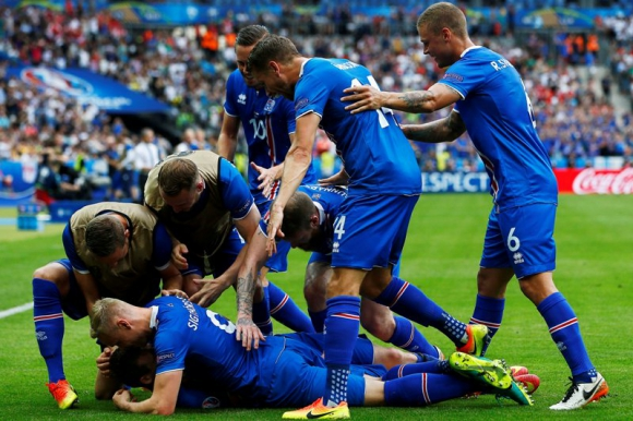 La locura de Islandia que está en octavos de final. Foto: EFE