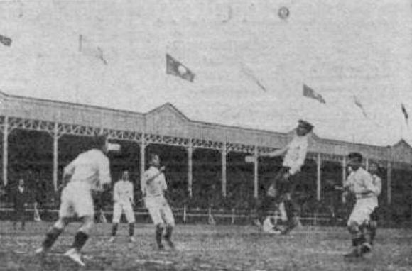Una escena del partido inaugural: Uruguay-Chile (Foto: Archivo del autor)