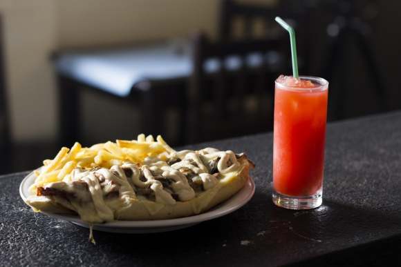 Pepito Bar, comida venezolana en Montevideo.