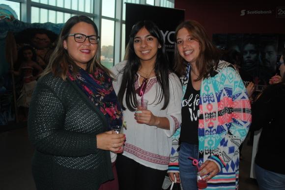 Sthefani Lambrechts, Mikaela Rodríguez, Lucía Medina.