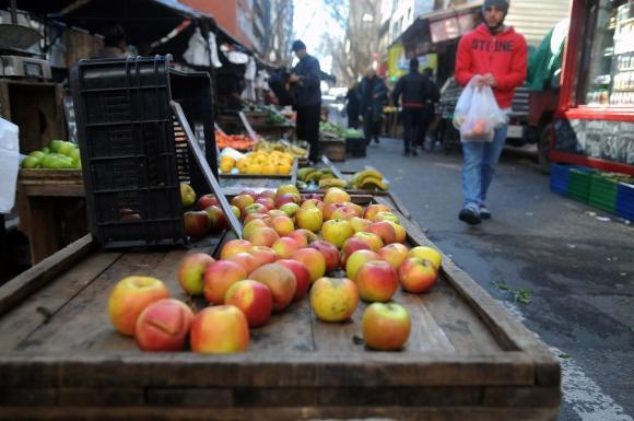 Las ferias cambian de calle cada 3 o 5 años. Foto: F. Ponzetto