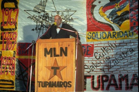 En un acto del MLN de 1998 Foto: Archivo El País