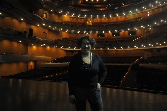Gumila Álvarez, venezolana viviendo en Uruguay. Foto: Ariel Colmegna.