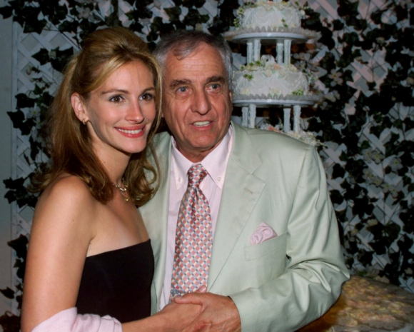 Julia Roberts y Garry Marshall. Foto: Reuters