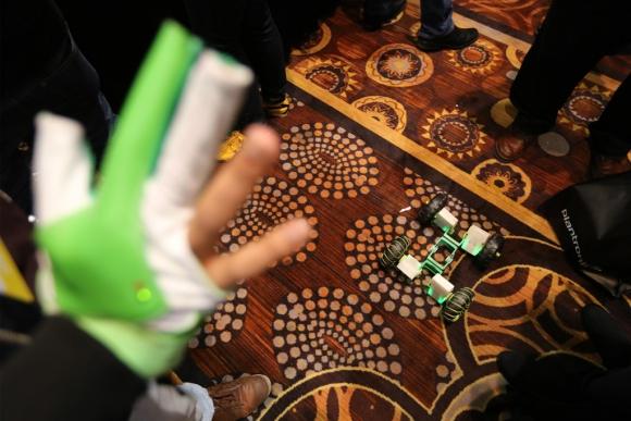 Feria CES en las Vegas. Foto: AFP