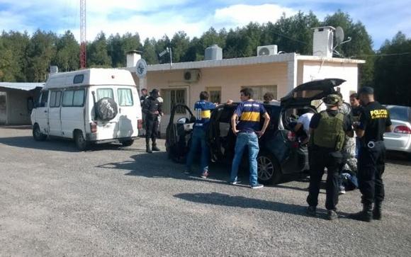 Varias rutas del país fueron intervenidas por la Policía. Foto: @mi_unicom