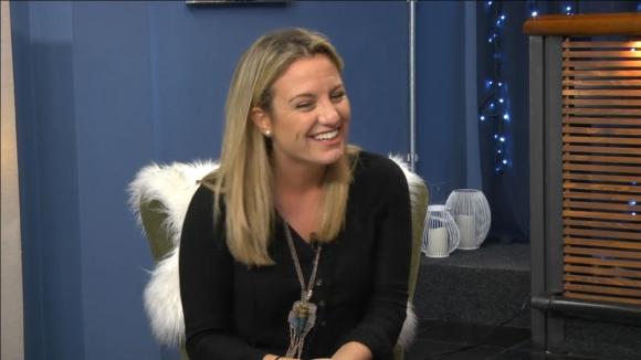 Leticia Piriz en Tv Show. Foto: captura