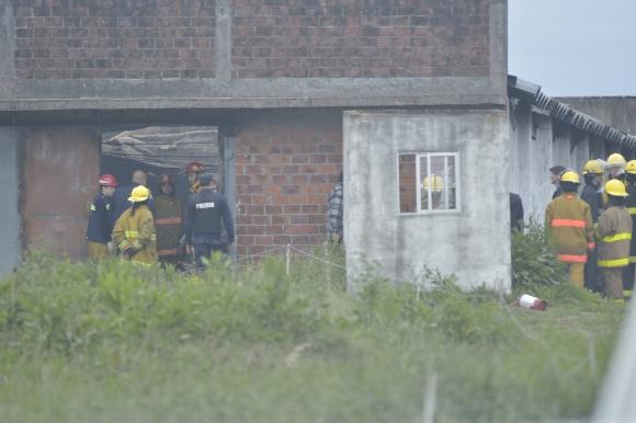 Incendio en local de pirotecnia dejó tres muertos y un herido. Foto: Gerardo Pérez