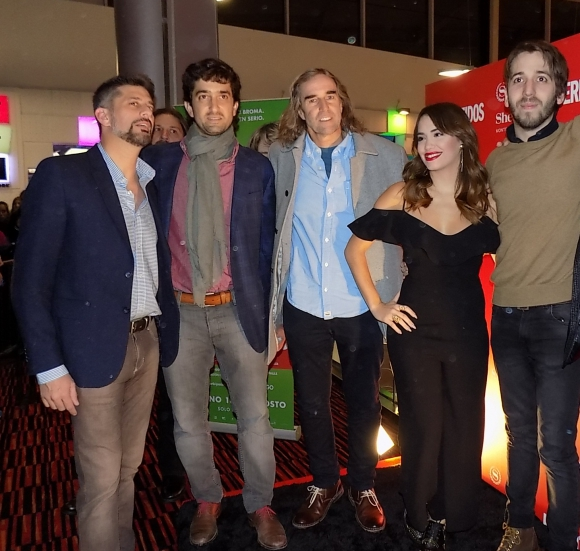 Christian Faillace, Martín Rupenian, Carlos Scheck, Lali Espósito, Martín Piroyanski.