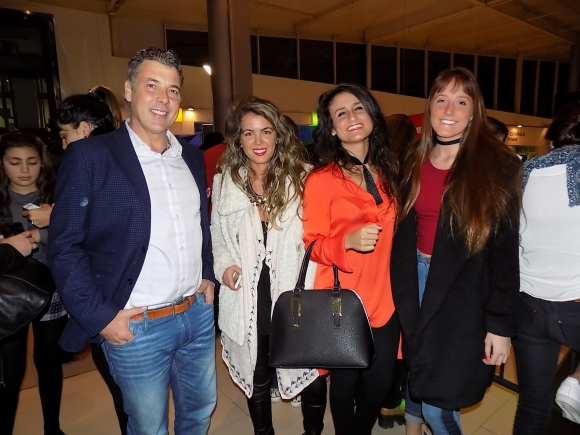 Julián Alvarez, Ximena Etchemendy, Victoria Solé, Micaela Gómez.