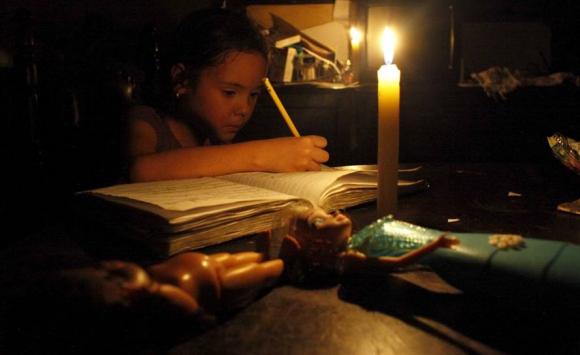 Maracaibo sin electricidad. Foto: Reuters.