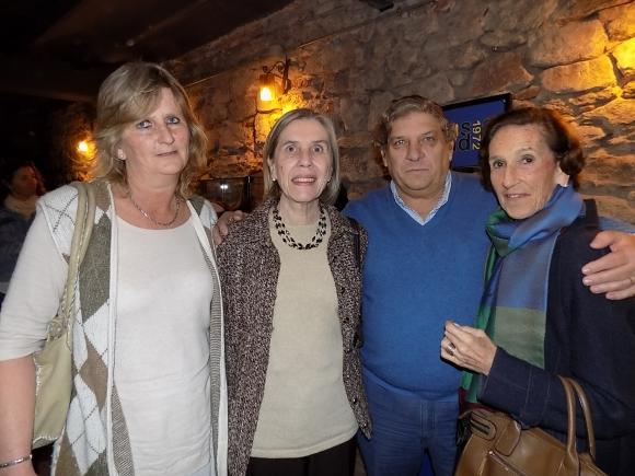 Ana Inés Martínez lamas, Teresa Valeta, Alvaro Mangino, Raquel Arocena de Nicolich.