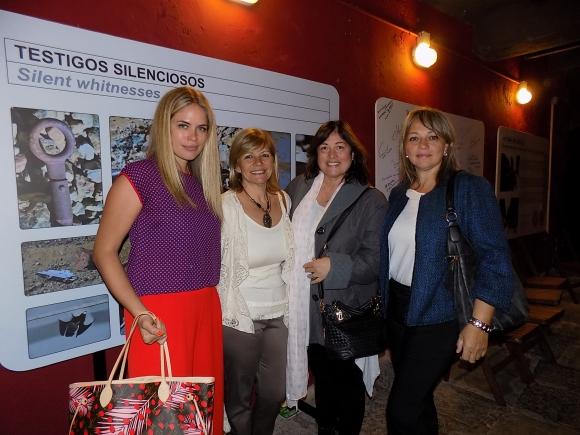 Katja Thomsen, Giselle, Graciela y Silvia Grien.