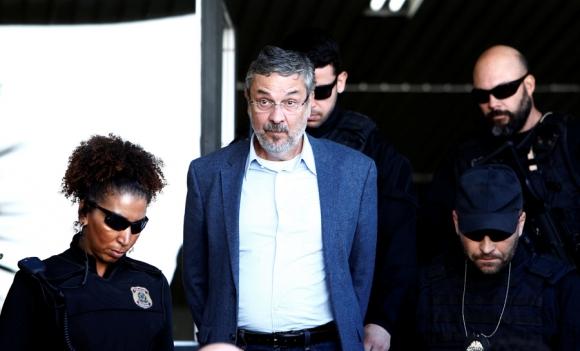 El exministro de Hacienda de Lula y exjefe de Gabinete de Dilma fue arrestado. Foto: Reuters