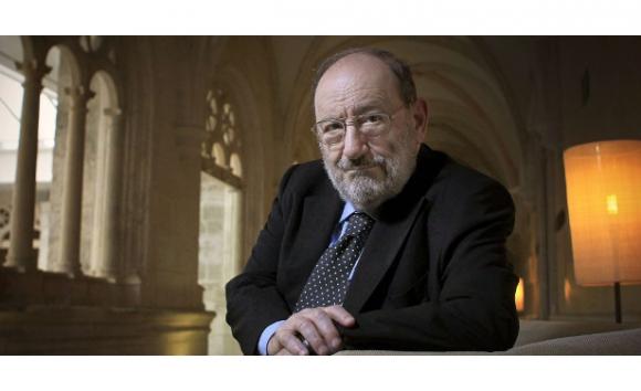 Umberto Eco. Foto Cristóbal Manuel