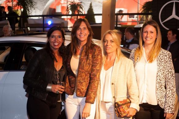 Laura López, Silvia Franco, María Irigoyen, Leticia Bof