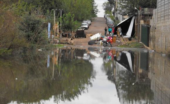 Las personas que pueden verse afectadas por la crecida de 13,30 metros ya fueron alertadas. Foto: Luis Pérez.