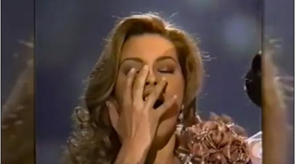 Alicia Machado, ex Miss Universo. Foto: Captura