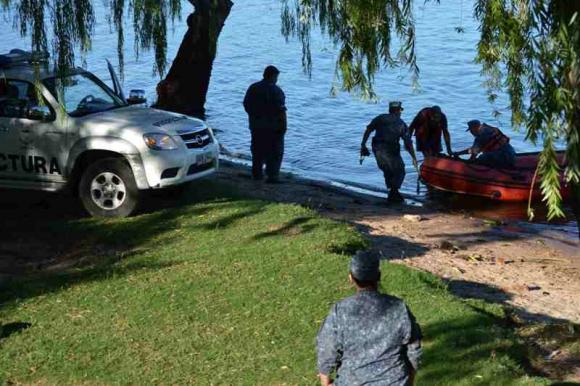 Encuentran cuerpo en Río Uruguay. Foto: Daniel Rojas