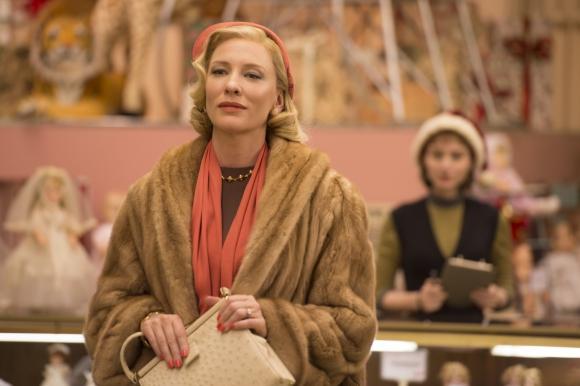 Cate Blanchett y Rooney Mara candidatas en la película más nominada.