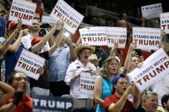 Seguidores de Trump: Foto: AFP