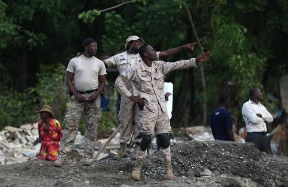 Haití en duelo tras el paso del huracán Matthew. Foto: EFE
