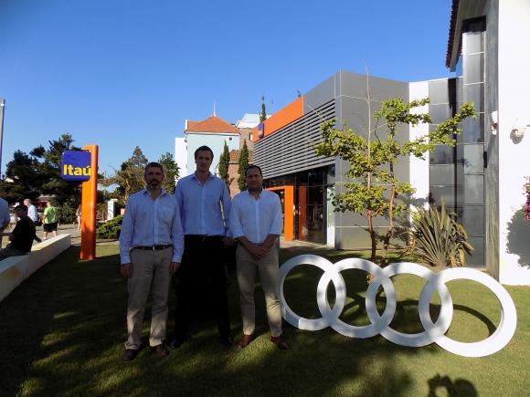Andrés Otegui, Nicolás Slinger, Sebastián Otero.