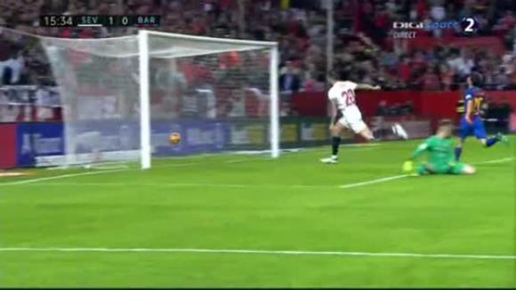 Sevilla 1-2 Barcelona - España