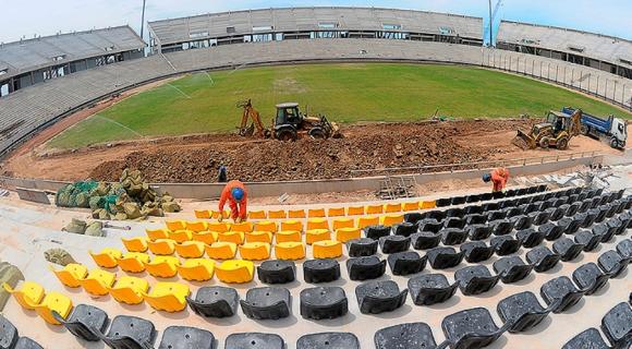 Estadio de Peñarol. Foto: @Oficialcap