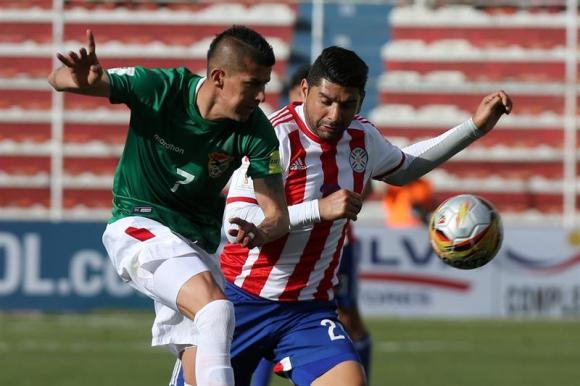Bolivia venció por 1-0 a Paraguay. Foto: EFe