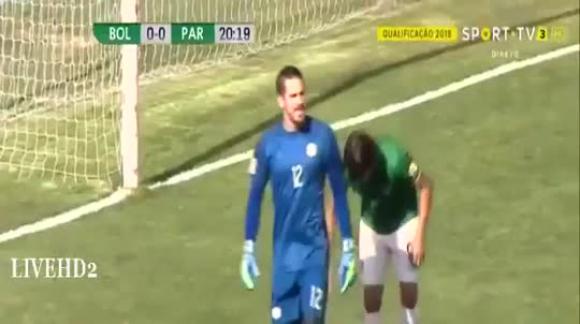Bolivia 1-0 Paraguay