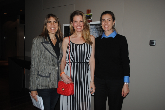 Carolina Brausse, Varina de Césare, Virginia Scherer.