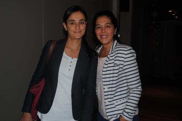 Ana Laura Moratorio, Lorena Alberti.