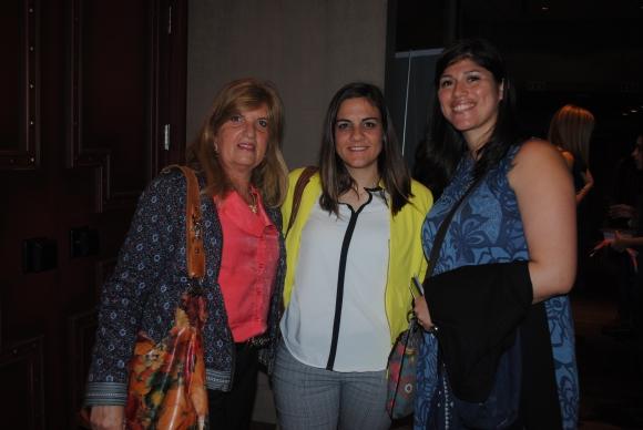Marianne Kindt, Verónica Reyes, Jimena Benítez.