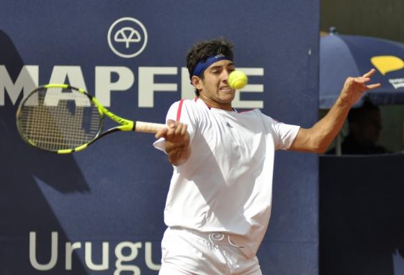 Garin dio la sorpresa de la jornada Foto Uruguay Open