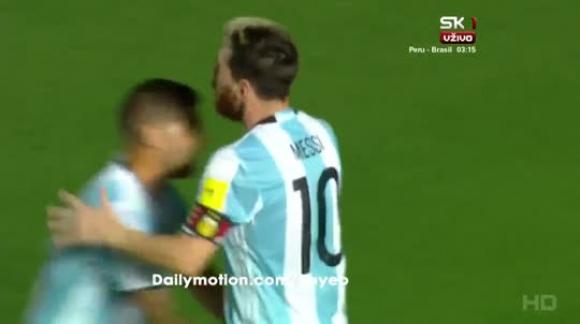 Argentina 3-0 Colombia - Eliminatorias