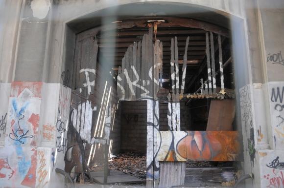 La exestación de AFE en la Aguada. Foto: Ariel Colmegna
