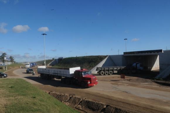 La ruta 5, una de las principales del país, mueve miles de camiones. Foto: F. Flores