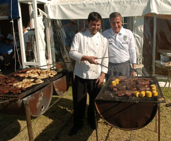 Aldo Cauteruccio, el chef de la Celeste (Foto: Gerardo Pérez)