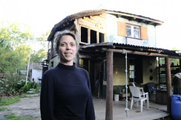 Lucile Dané es francesa y siente que en Remanso encontró su lugar en el mundo.