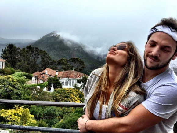 Cami Rajchman y su novio Roni Kolberg. Foto: Instagram