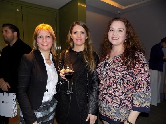Arazey Camacho, Lorena Rodríguez, Ana Laura Suárez.