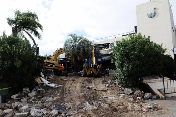 Demolición del local de