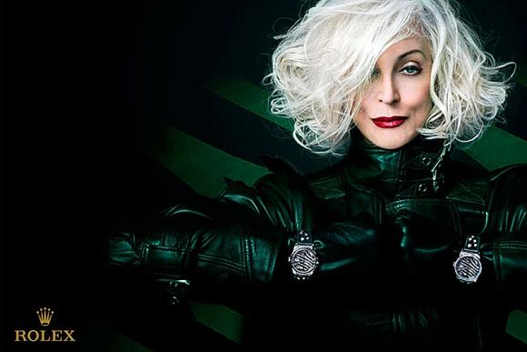 Carmen Dell'Orefice. La modelo de 84 años ha sido imagen de Rolex. (Foto: Google Images)