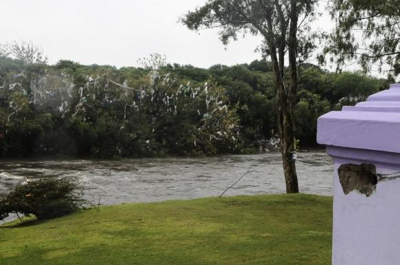 El parque dañado por la tormenta. Foto: Darwin Borrelli
