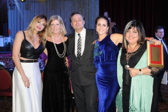 Claudia Fernández, Cristina Giuria, Juan Herrera, Verónica Piñeyrúa, María Inés Obaldía.