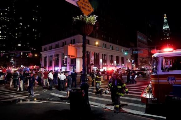La explosión ocurrió en el barrio de Chelsea, NY. Foto: EFE