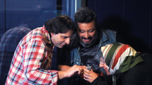 El Pñe y Diego, dos de los tantos famosos que participaron de