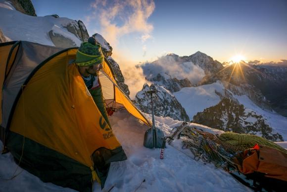 Un selecto grupo de cinco escaladores se propone estar <i>En la cima de Birmania.</i>