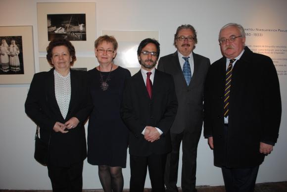 Valentina Gorbacheva, Natalia Prokopieva, Facundo De Almeida, Joan Gregori, Embajador de Rusia Alexey k Labetskiy.